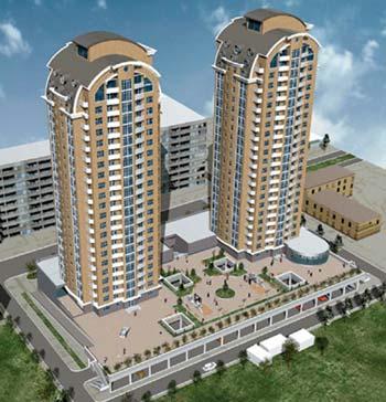 Житлові багатоповерхові будинки по